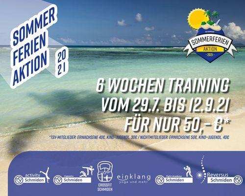 TSV Sommerferien-Aktion vom 29.07 bis 12.09.2021