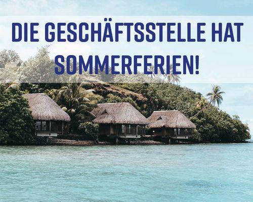TSV Geschäftsstelle macht Sommerferien